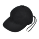 CHRISTIAN DADA    BACK LACE-UP COTTON CAP