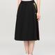 MSGM sporty flared skirt