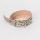 Hender Scheme python tanning belt/natural