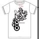 新作Tシャツ  [BIGロゴver]  白