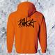 Rakia Zip up parka  -Orange-