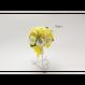 【即日発送可】和紙ラウンドブーケ・黄(商品番号:bouquet-002y)