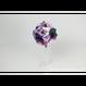 【即日発送可】和紙ラウンドブーケ・紫(商品番号:bouquet-002pur)