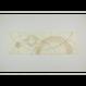 創作デザイン和紙(柿渋)(商品番号:as-160207)