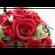 【即日発送可】和紙ラウンドブーケ・赤(商品番号:bouquet-002r)
