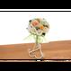 【即日発送可】和紙ラウンドブーケ・白  (商品番号:bouquet-002w)