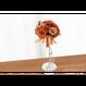 【即日発送可】和紙ラウンドブーケ・橙(商品番号:bouquet-002or)