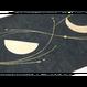 創作デザイン和紙(丸箔)(商品番号:as-161103)