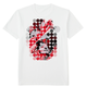 Wekids Tshirt Red Pop (white)
