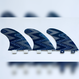 FCS, トライフィン, Mサイズ, 青ジグザグ
