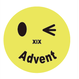 にこちゃんAdvent(Metal badges)