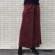 color wide pants