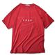 STANDARD Logo Pigment Dyed Tee【Crimson】
