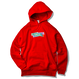 GMCAL Boxlogo Embroidered hooded sweatshirt【Red】