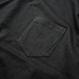 Big Silhouette Pocket Tee  【Black】