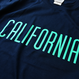 CALIFORNIA LOGO Tee  【Navy】