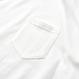 Big Silhouette Pocket Tee  【White】