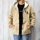 Hooded Coaches Jacket【Classic Khaki】