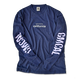 GMCAL Pigment-Dyed Long Sleeve Tee【Navy】