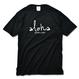 aloha good luck Tee 【Black】