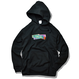GMCAL Boxlogo Embroidered hooded sweatshirt【Black】
