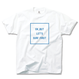 OK,BUT LET'S SURF FIRST Tee【White】
