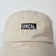 GMCAL Box Logo Damage Cap【Stone】