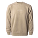 SURF IN CAL. Pigment Dyed crewneck sweatshirt 【Pigment Sandstone】