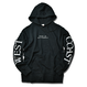 WEST COAST Sleeve Logo hooded sweatshirt【Black】