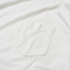 YFSF Pigment Dyed Pocket Tee【White】