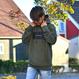【予約商品】ALOHA GOOD LUCK BOX LOGO hooded sweatshirt【Army】
