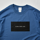 ALOHA GOOD LUCK BOX LOGO  Tee  【Indigo Blue】