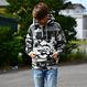 【予約商品】ALOHA GOOD LUCK BOX LOGO hooded sweatshirt【Snow Camo】