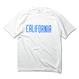 CALIFORNIA LOGO Tee  【White】