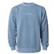 SURF IN CAL. Pigment Dyed crewneck sweatshirt 【Pigment Slate Blue】