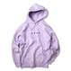 STANDARD LOGO hooded sweatshirt【Lavender】