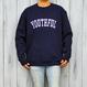 YOUTHFUL logo crew neck sweatshirt【Navy】