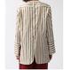 【CNLZ】Stripe Dress Shirt / シーエヌエルゼット ストライプ ドレスシャツ