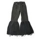 【CNLZ】Vintage Remake  Raffle hem Denim Pants/シーエヌエルゼット ヴィンテージリメイク デニムパンツ
