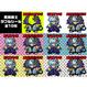 魔剣戦士(石原アサギ&魔剣戦士アサギ)Wシール 全10枚