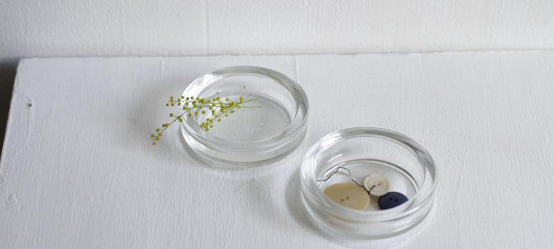 ガラス小皿