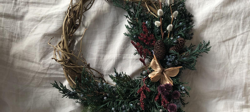 Forest holy accent wreath