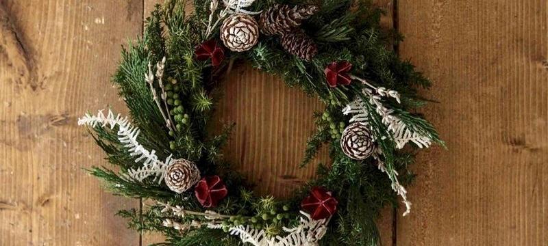 Forest  angel wreath