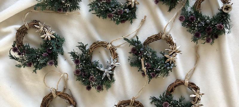 When you wish upon a star mini wreath