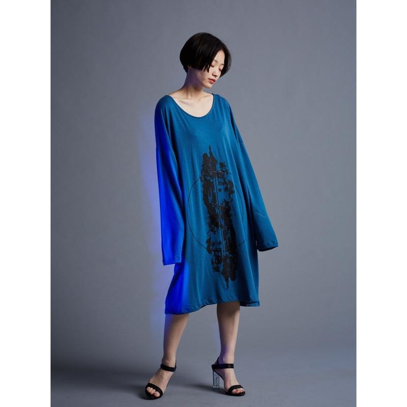 「  lost rain 」No name long cut-sewn / 4color