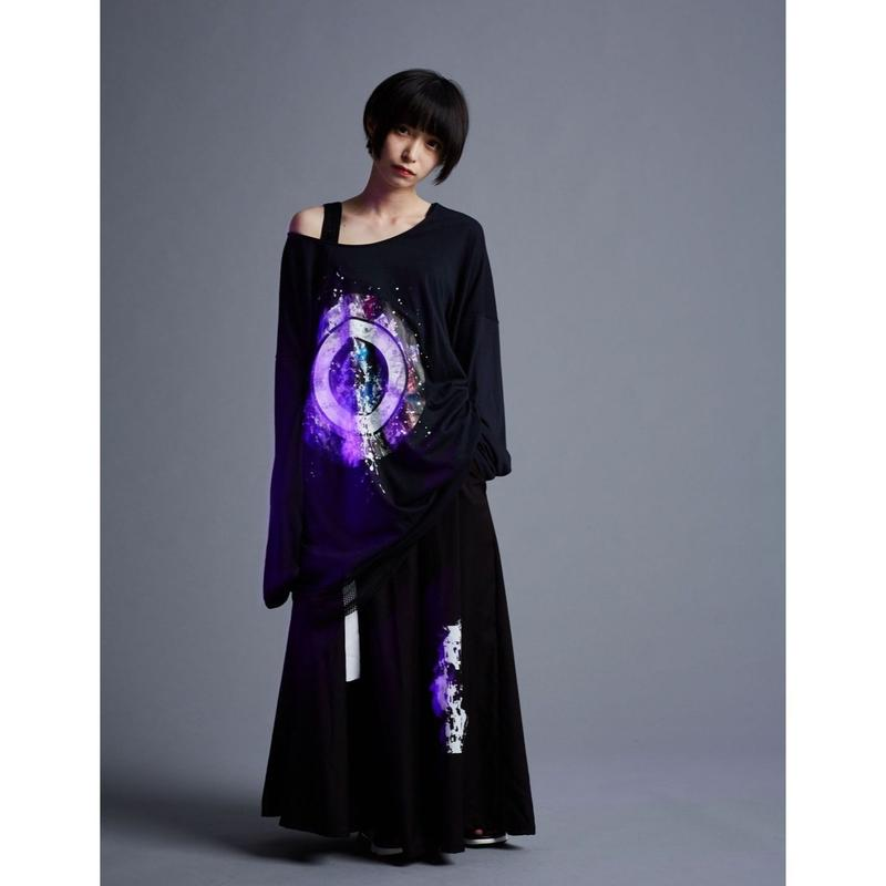 「 night karma 」No name long cut-sewn