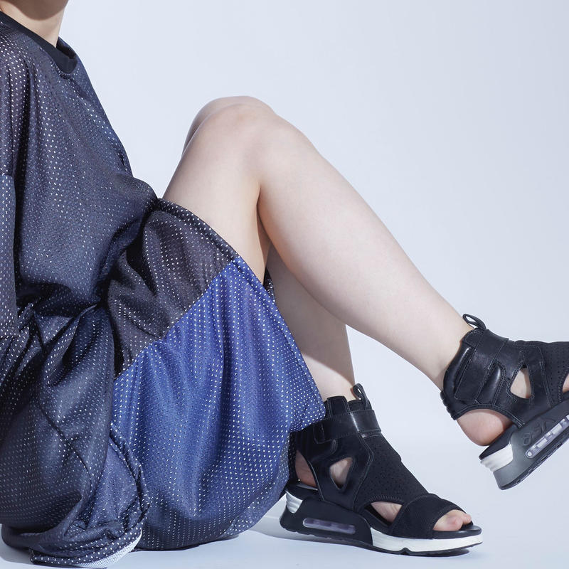 X-Ray mesh half pants / 2color