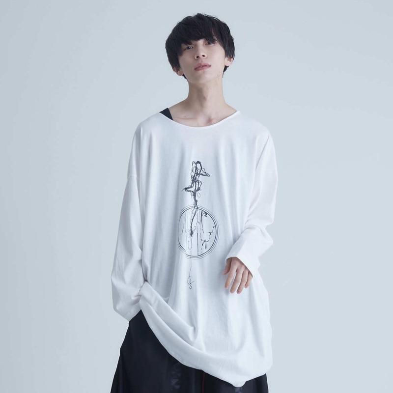 「melt girl」No name long cut-sewn