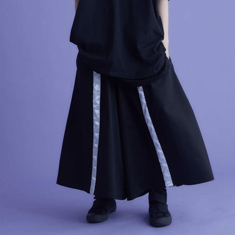 Alma 4line wide pants / 2color