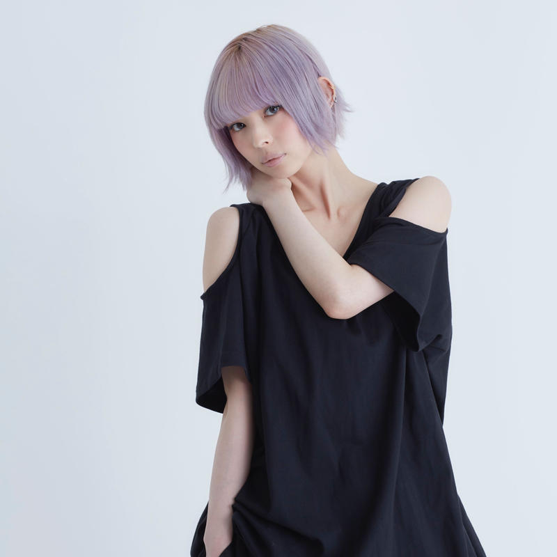 0658 open shoulder long T-shirts / 4color